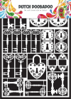 DUTCH DOOBADOO 472.948.009 - DUTCH PAPER ART - KEYS