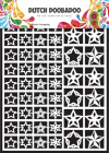 DUTCH DOOBADOO 472.948.005 - DUTCH PAPER ART - STARS