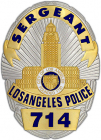 L.A.Police Badge #714 Joe Friday