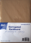 JOY CRAFT - CORRUGATED CARDBOARD A4 8089-0214 - BØLGEPAPP 1 stk