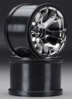 "Traxxas 5671 Geode 3.8"" Chrome Wheels Summit (2)"