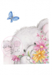 WILD ROSE STUDIO - CL229 -  BELLA AND BUTTERFLY