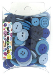BUTTONS - DRESS IT UP 7286 - COLOR ME BLUE