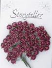 Storyteller - Rose 1548 - 14mm - burgunder