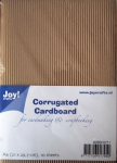 JOY CRAFT - CORRUGATED CARDBOARD 8089-0211 - BØLGEPAPP A4 - 10 a