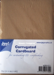 JOY CRAFT - CORRUGATED CARDBOARD A4 8089-0214 - BØLGEPAPP
