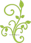 Cheery Lynn Designs - B117S - Mini Fanciful Flourish