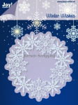 JOY CRAFTS - 6002-2022 - NOOR DESIGN - CIRCLE WITH ICE CRYSTALS