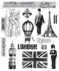 TIM HOLTZ - STAMPERS ANONYMOUS CMS160 - PARIS TO LONDON