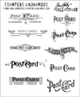 TIM HOLTZ - STAMPERS ANONYMOUS CMS099 - POSTCARDS