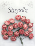 Storyteller - Bestemor rose 6345 - 25mm - Lys rosa