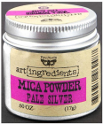 ART INGREDIENTS - FINNABAIR - MICA POWDER 962517 - SILVER PALE
