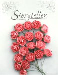 Storyteller - Bestemor rose 6352 - 25mm - Rosa