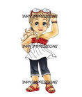 INKY IMPRESSIONS - RUBBER STAMPS - SASSY LILI