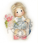 MAGNOLIA STAMP - SPECIAL MOMENTS 2013 - TILDA BINDING FLOWERS