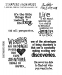 TIM HOLTZ - STAMPERS ANONYMOUS CMS085 - GOOD THOUGHTS