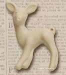 RESIN - DEER FAWN 20-1 - CREAM - 3stk
