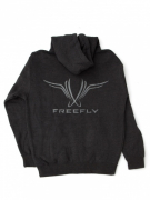 Freefly Grey Zip Up Hoodie