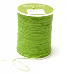 MAY ARTS - BURLAP STRING JUTE SM46 - 1 MM - PARROT GREEN pr.m