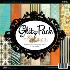 GLITZ DESIGN PAPER PACK - LACED WITH GRACE 8x8
