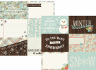 Winter Wonderland - 4x6 Horizontal Journaling Elements