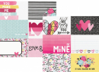 Love & Adore - 4x6 Horizontal Journaling Elements
