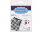 3L - FOAM SQUARES - 3D MIXED PACK - BLACK