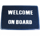 "Matte ""Welcome on board"" PVC 40 x 60 cm"