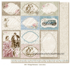 MAJA DESIGN - VINTAGE ROMANCE 839 - LOVE NOTES