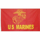 US Marines Flag Red