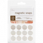 "BASIC GREY - MAGNET SNAPS MET522 - 1/32"" THICK - 0.625"" - 6 stk"