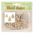 WOOD SHAPES - 71.2489 - CHRISTMAS TREES