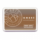 HERO ARTS - OMBRE INK PAD AF311 - SAND TO CHOCOLATE BROWN