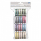 AMERICAN CRAFTS - BAKERS TWINE HEMP - PACK 12 STK - PASTEL