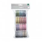 AMERICAN CRAFTS - HEMP TWINE ASSORTMENT PACK 12 STK - BRIGHT