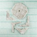 PRIMA - RESIN SHABBY CHIC 890742 - CEILING ORNAMENTS