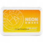 HERO ARTS - NEON INK PAD AF328 - YELLOW TO ORANGE