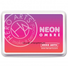 HERO ARTS - NEON INK PAD AF330 - NEON RED TO PURPLE