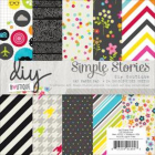 SIMPLE STORIES - DIY BOUTIQUE 5122 - PAPER PAD 6X6