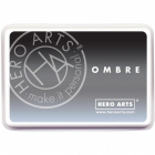 HERO ARTS - OMBRE INK PAD AF307 - GRAY TO BLACK
