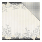 AUTHENTIQUE - EVERLASTING - PAPER 12X12 - FLORAL & LACE BORDER