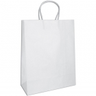 CINDUS - TINTED KRAFT BAGS MEDIUM - WHITE