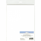 ELIZABETH CRAFT DESIGNS - SOFT FINISH CARDSTOCK - WHITE 85lb