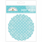 DOODLEBUG - PAPER DOILIES 4469 - SWIMMING POOL POLKA DOT