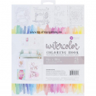 PRIMA - WATERCOLOUR COLORING BOOK - FRAMEABLE PAGES