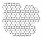 THE CRAFTERS WORKSHOP - TCW6X6-259s - Mini Chicken Wire Reverse