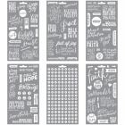 ME & MY BIG IDEAS - CLEAR STICKERS PPS12 - FAITH