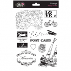 GLITZ DESIGN STAMPS - S3214 - HAPPY TRAVELS
