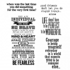 TIM HOLTZ - STAMPERS ANONYMOUS CMS165 - WAY WITH WORDS