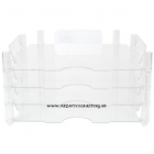 WE R MEMORY KEEPERS - 662587 - STACKABLE ACRYLIC PAPER TRAYS